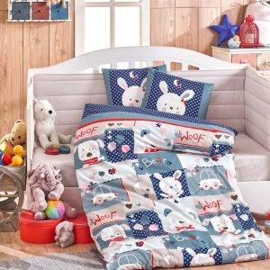 купить Детское Постельное Белье Hobby Snoopy Голубой (8698499132375)
