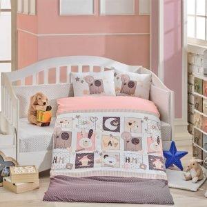 купить Детское Постельное Белье Hobby Sweet Home Розовый (8698499129305)