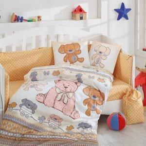 Детское Постельное Белье Hobby Tombik Бежевый 100×150