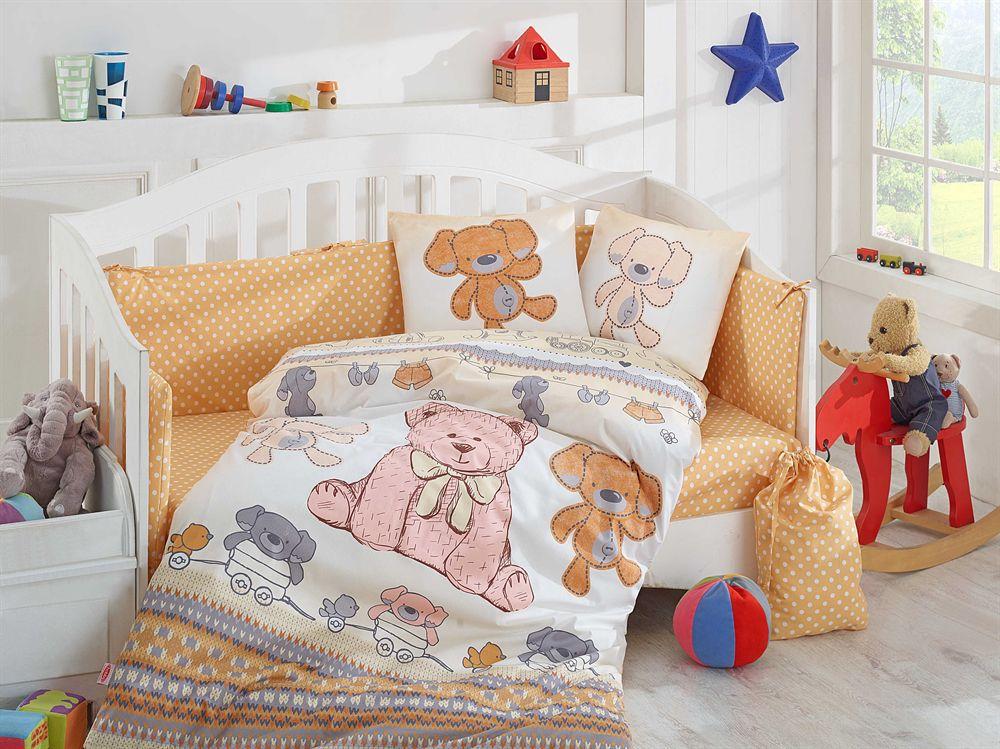 купить Детское Постельное Белье Hobby Tombik Бежевый (8698499125100)