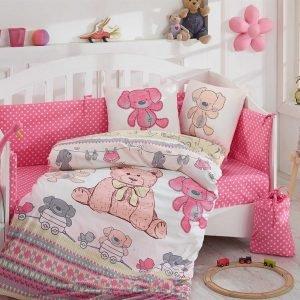Детское Постельное Белье Hobby Tombik Розовый 100×150
