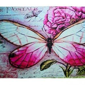 Коврик Придверный Fashion Carte Postale 40×70