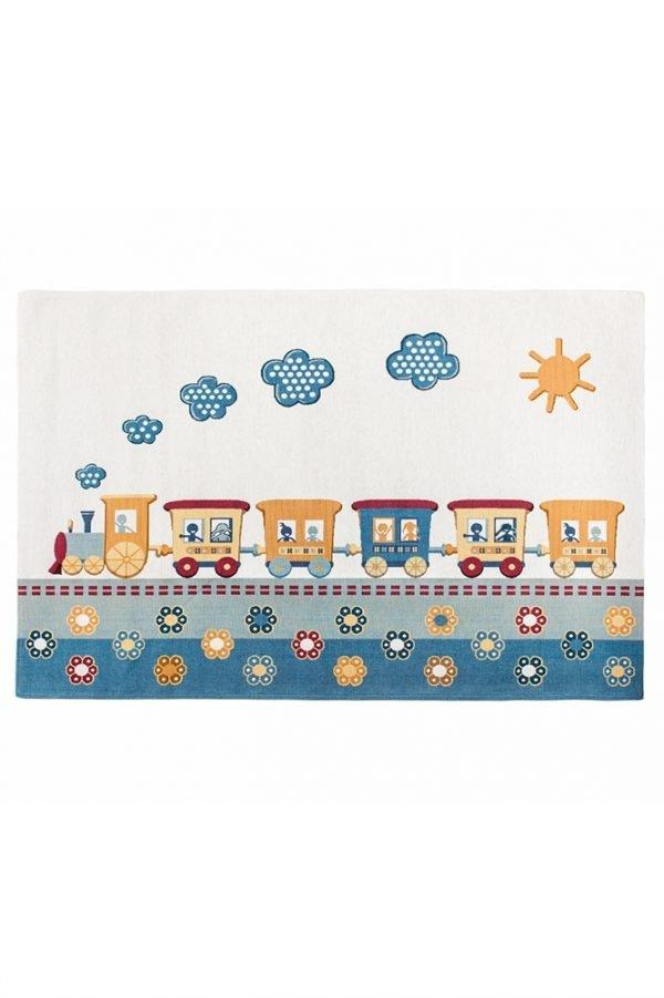 Коврик для Детской Комнаты Aragon №92 (Train) 60×90