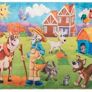 Коврик для Детской Комнаты Kids Сiftlik 100×140