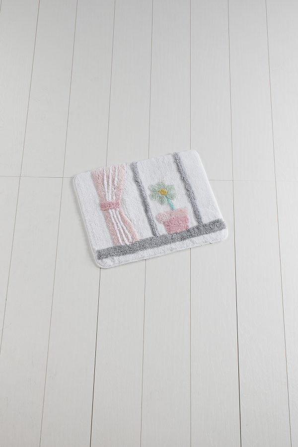 Коврик Chilai Home Bodrum White 50×60