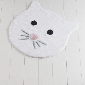 Коврик Chilai Home Cat White 90×90