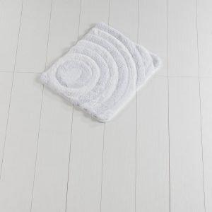 Коврик Chilai Home Wave(Lurex) White 50×60
