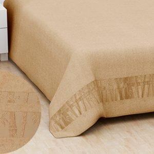 Махровая простынь Hanibaba бамбук ex бежевый 160×220
