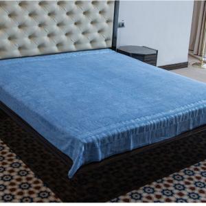 купить Махровая простынь Hanibaba бамбук ex голубой (m013099-v)