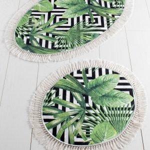 Набор Ковриков Chilai Home Tropic Djt 60×100, 50×60