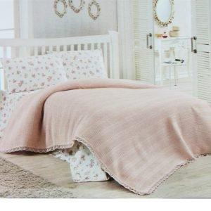 Покрывало-Плед Dantel Розовый Розовый  (IZ-2200000543943-v) Розовый фото