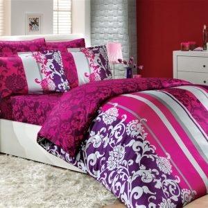 Постельное Белье Hobby Exclusive Sateen Oriental Розовый 160×220 (2 шт)