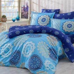 Постельное Белье Hobby Exclusive Sateen Ottoman Голубой