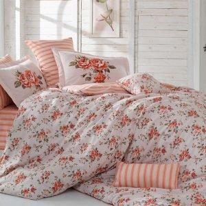 Постельное Белье Hobby Poplin Flora Розовый