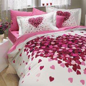 Постельное Белье Hobby Poplin Juana Розовый 200×220