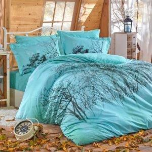 Постельное Белье Hobby Poplin Margherita Голубой 200×220