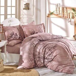 Постельное Белье Hobby Poplin Margherita Розовый 200×220