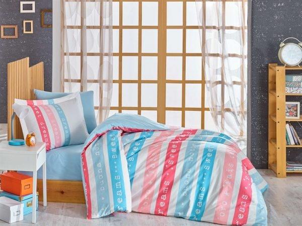 купить Постельное Белье Hobby Poplin Sweet Dreams (8698499130685)
