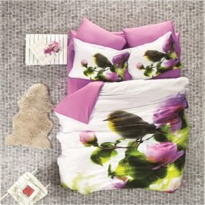 Постельное Белье Luoca Patisca 3d Sateen Pink Nature 200×220