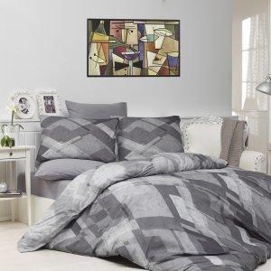 Постельное Белье Majoli Mosaic Gri 200×220