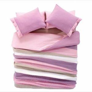 купить Постельное белье с пледом Amour Paris - Розово- сиреневое (3134)