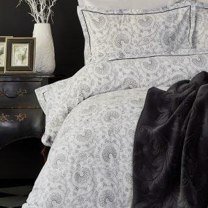 Постельное белье с пледом Karaca Home Tierra siyah 2018-2 200×220