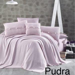 Постельное белье с покрывалом First Choice nirvana excellent pudra (324) 200×220
