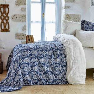 Постельное белье с покрывалом Karaca Home Elina beyaz 2018-2 200×220