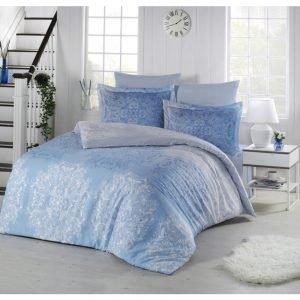Постельное белье Altinbasak сатин люкс halley mavi 200×220