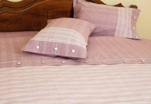 Постельное белье Buldans Sude gul kurusu 200x220 (sv-2000008455848) Розовый фото