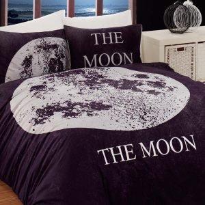 Постельное белье Charlot Home Moon siyah ранфорс 200x220 (sv-2000022188067) Черный фото