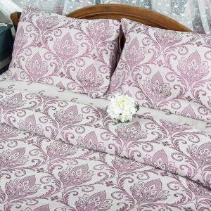 Постельное белье Deco Bianca сатин жаккард jk17-05 bordo 200x220 (sv-2000008488327) Бордовый фото 3