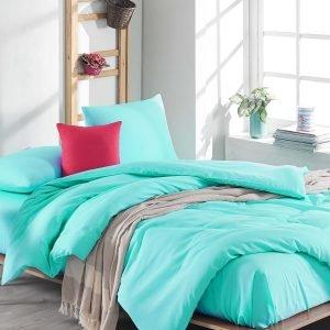 Постельное белье Eponj Home Flat Nil Yesil ранфорс 200×220