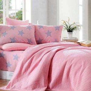 Постельное белье Eponj Home Paint Pike BigStar pembe