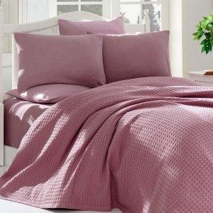 Постельное белье Eponj Home Paint Pike Burumchuk gulkurusu 200x235 (sv-2000022178570) Розовый фото