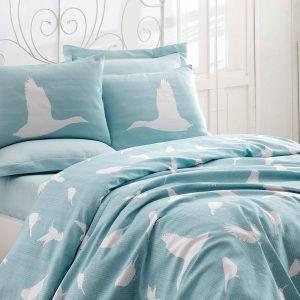 Постельное белье Eponj Home Pike Enya mint 200×235