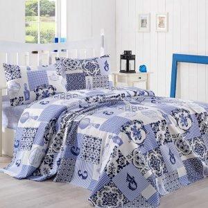 Постельное белье Eponj Home Pike Serra mavi 200×235