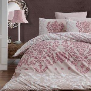 Постельное белье First Choice de luxe ранфорс dalyan pudra 200×220