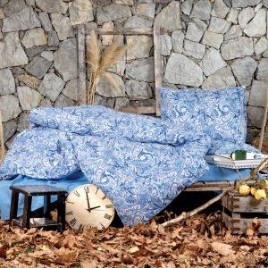 Постельное белье Irya Flanel Salamis 200x220 (sv-2000022111508) Голубой фото