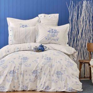 Постельное белье Karaca Home перкаль Brisa mavi 2018-2 200×220