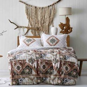 Постельное белье Karaca Home ранфорс Alondra kiremit 2019-1 200x220 (sv-2000022194624) Коричневый фото