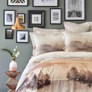 Постельное белье Karaca Home ранфорс Lindara blush 2019-1 200×220