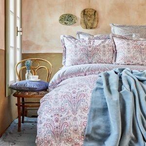 Постельное белье Karaca Home ранфорс Luminda pembe 2018-1 200×220