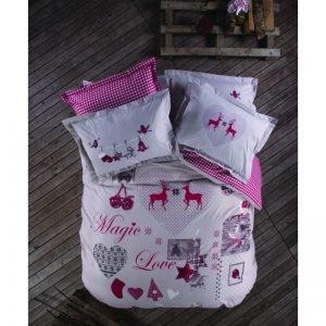 Постельное белье Karaca Home ранфорс Magiс Love 160×220