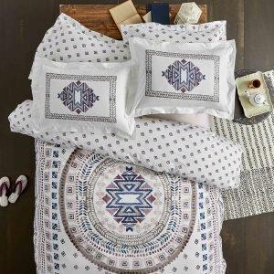 Постельное белье Karaca Home ранфорс Melvin visne 2019-1 200×220