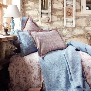 Постельное белье Karaca Home ранфорс Patara indigo mavi 2016 200×220