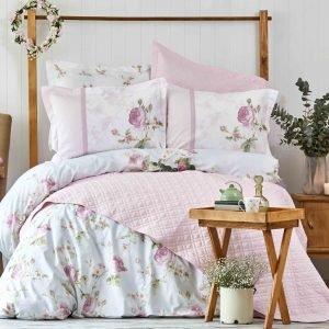 Постельное белье Karaca Home ранфорс Rosa pembe 2018-2 200×220