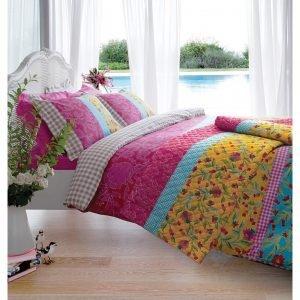 Постельное белье Karaca Home ранфорс Sehnai 160x220 (sv-8680214003862) Розовый фото