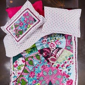 Постельное белье Karaca Home ранфорс Suelita pembe 2016 200×220