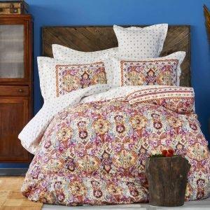 Постельное белье Karaca Home ранфорс Tasya turkuaz 2018-2 200×220